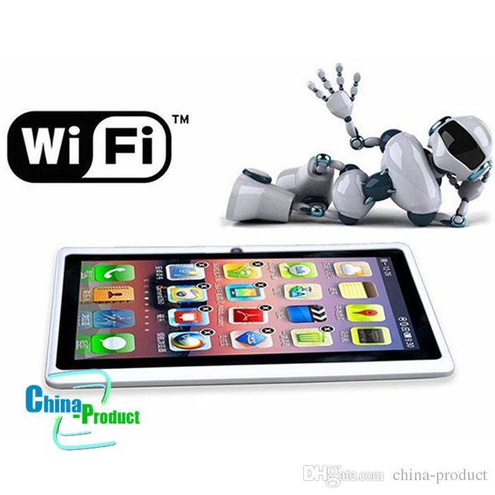 7 inch quad core tablet q88 Tablet PC Android 4.4 3000mAh Battery WiFi Quad Core vs lenovo huawei xiaomi