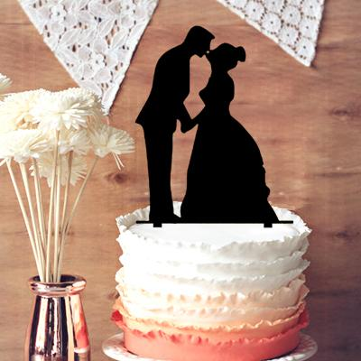 m s wedding cake toppers wedding cake toppers and groom silhouette 17647