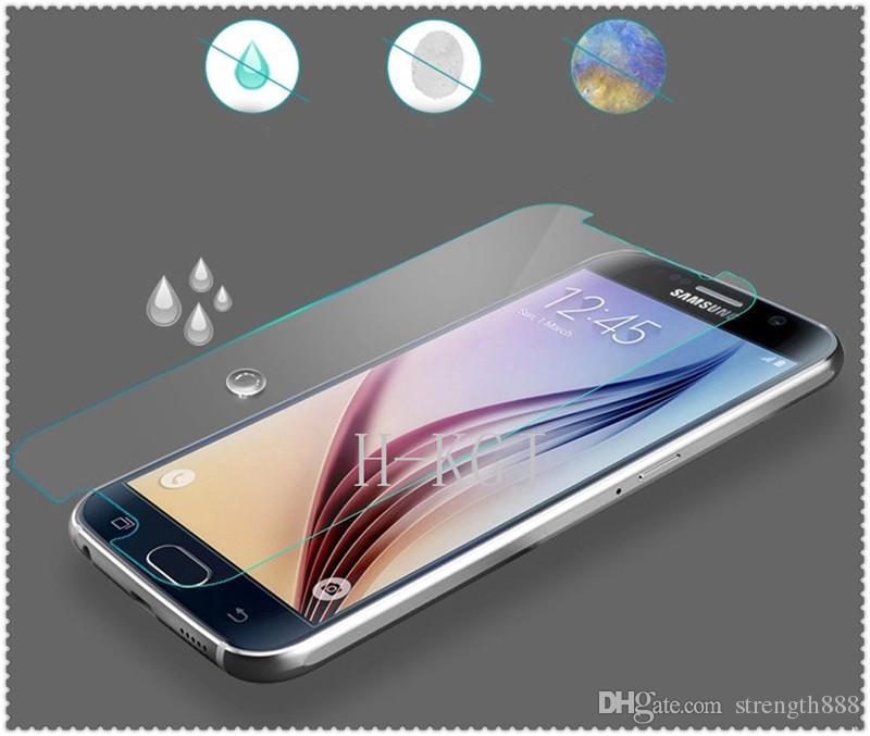 삼성 갤럭시 S6에 대한 도매 프리미엄 울트라 얇은 강화 유리 화면 보호기 필름