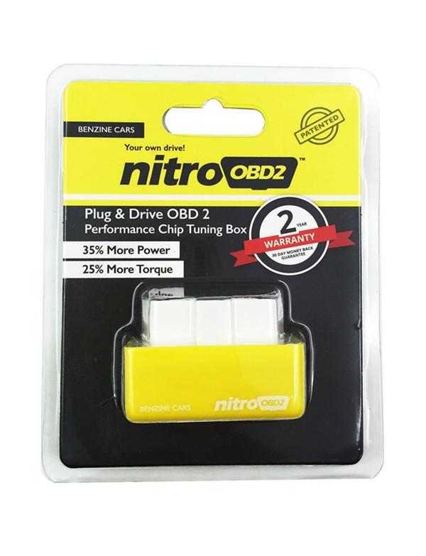 NitroOBD2 Gasolina Benzine Carros Tuning Chip Box NitroOBD mais poder Torque Nitro OBD plug and Drive Nitro OBD2 /