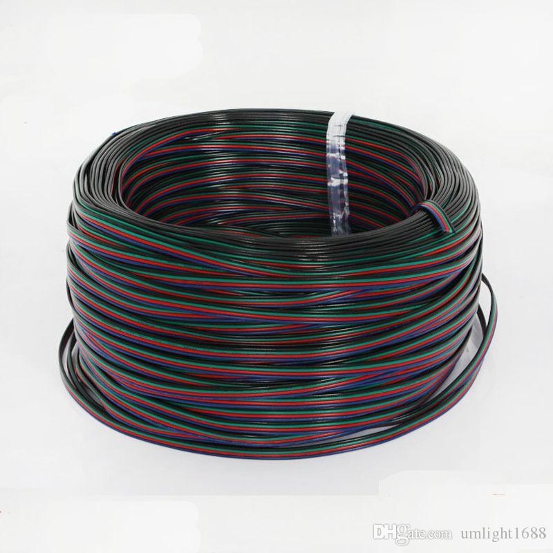 500 Mt 4 Pins LED RGB Kabel Verlängerungskabel LED Verlängerungskabel Für 5050/3528 LED RGB Lichtleiste
