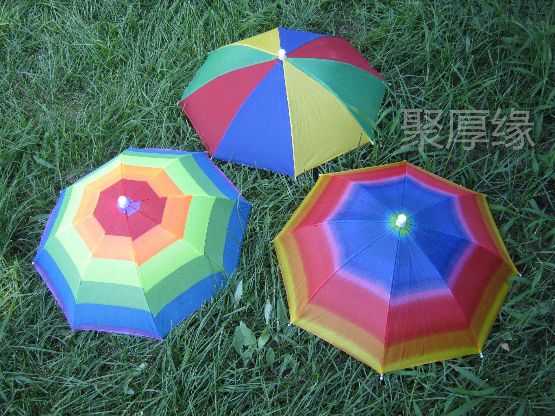 2018 Hat Umbrella Cap Fishing Umbrella Tourist Hot Night Market ...
