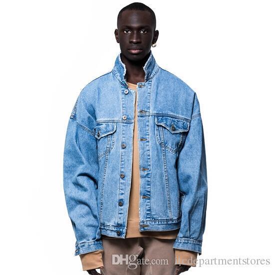 Veste en jean vintage homme