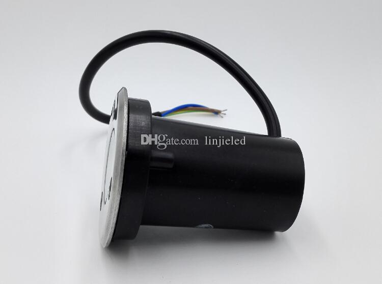 Sıcak satış 3 W Yeraltı Led Işık IP68 Su Geçirmez LED Açık Zemin Bahçe Yolu Zemin Yeraltı Gömülü Yard Lambası Spot Peyzaj Işık