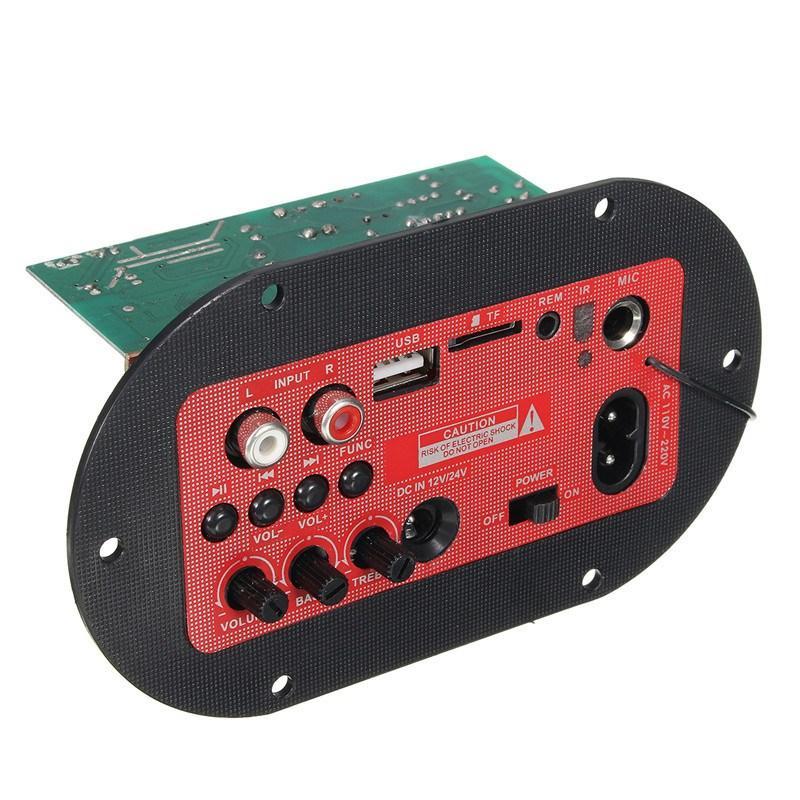 220V/12V/24V 65W 89hV Car Bluetooth Subwoofer Hi Fi Bass