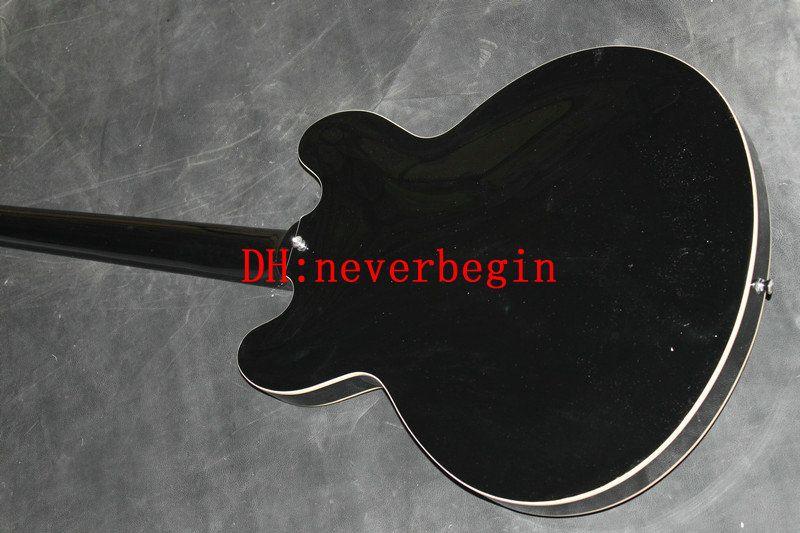 Custom Black hollow bass Electric Bass Guitar strings BASS Guitars China guitar
