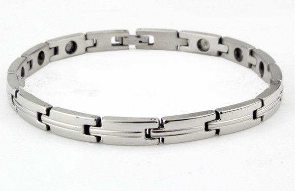 New arrival fashion magnetic energy bracelets health care benefit for women men