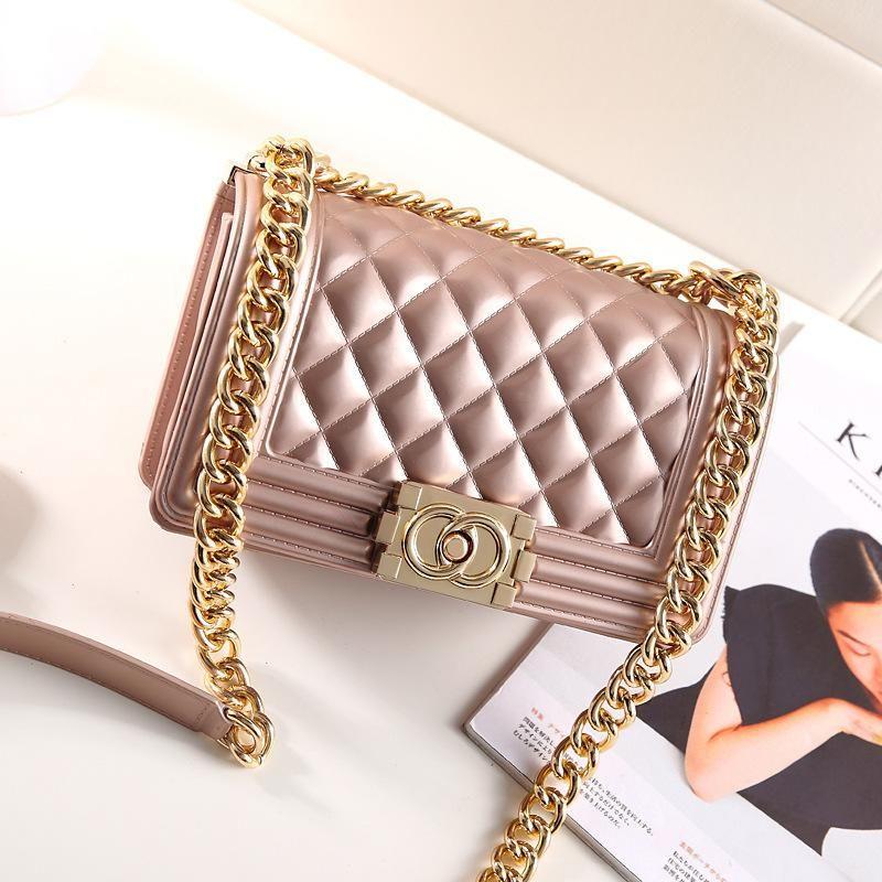 4dc822c752 New Arrival Crossbody Bags Women Matte PU Leather Famous Brands Frosted  Jelly Diamond Lattice Bag Chain Flap Shoulder Cross Bolsa Feminina Women  Crossbody ...