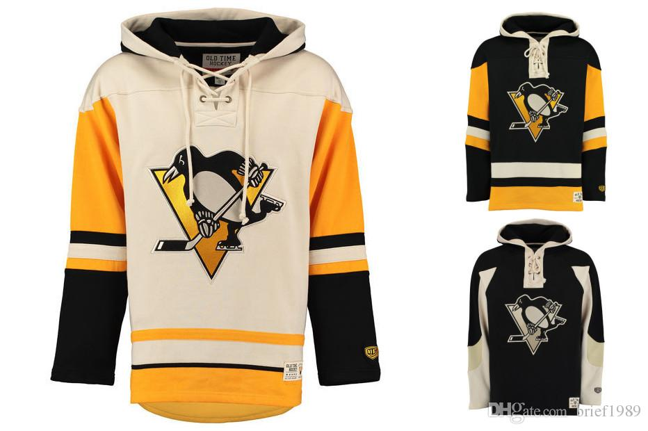 2019 Customized Pittsburgh Penguins Hockey Jerseys Uniforms 58 Kris Letang  66 Mario Lemieux Men Women Kids Hoodie Hooded Sweatshirt Jackets From  Brief1989 01674518f