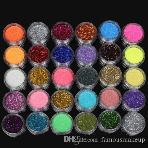 30 цветов тени для век порошок пигмент красочные минеральные тени для век макияж высокое качество и лучшие цены бесплатная доставка