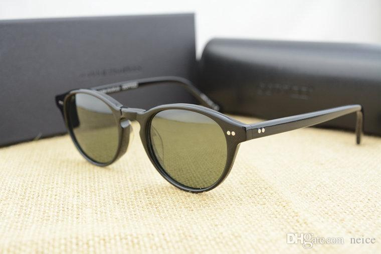 dafbcaecfdc Brand Sunglasses Vintage Men And Women Sunglasses Oliver Peoples 5186 Sun  Glasses OV5186 Polarized Gregory Peck Glasses Retro Designer Men Wholesale  ...