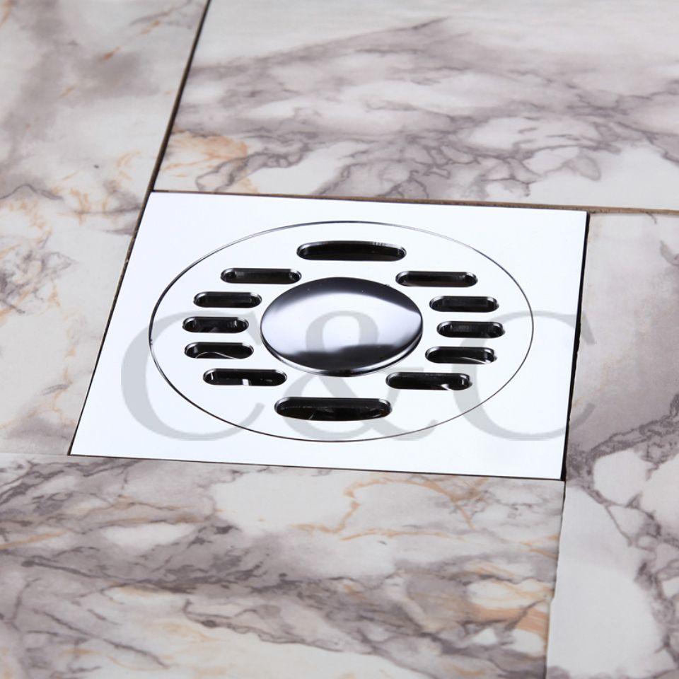 2019 Bathroom Washing Machine Floor Drain Trap Balcony