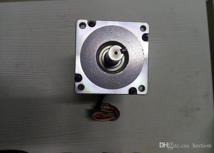 New Leadshine 2-Phasen-Hochspannungs-Schrittmotor 86HS120 Eingang 4.9A aus 12 NM CNC-Schrittmotor NEMA 34 Größter Motor