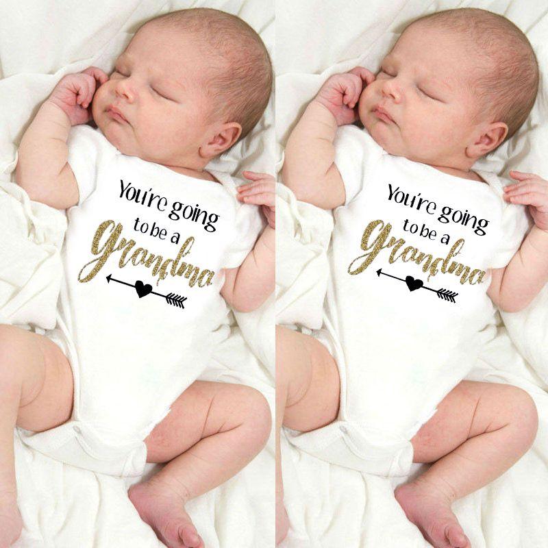 91f48d7dd 2019 2017 Newborn Toddler Infant Kid Baby Boy Girl Bodysuit We Are ...