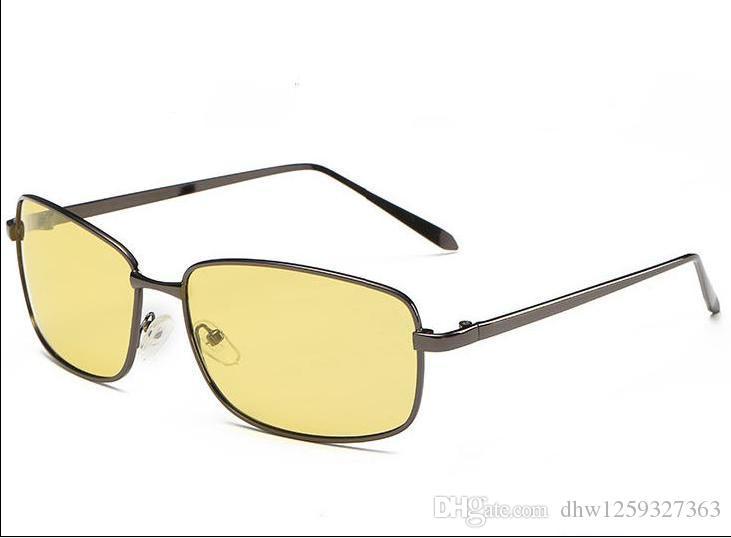 eced82ce51 Polarized Sunglasses Outdoor Brand Sunglasses For Men Metal Glass HD Vintage  Sun Glasses Night Vision UV400 Retro Drive Cheap Eyeglasses Sunglasses Shop  ...