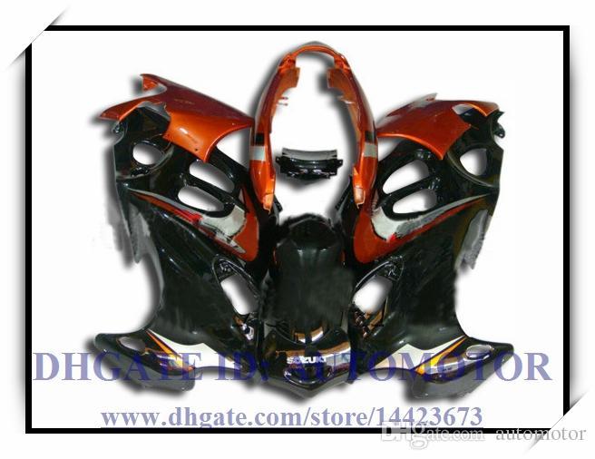 marchio BLACK BROWN nuovo di alta qualità corredo della carenatura 100% Suzuki GSX600F / 750F 1997-2005 GSX 600F GSX750F 1998 1999 2000 2001 # 04TY6