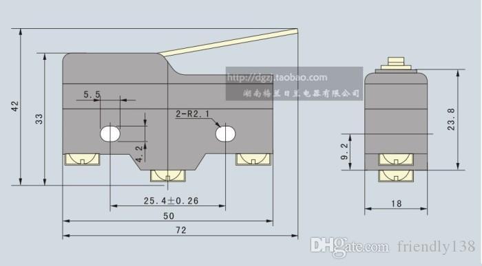Микропереключатель Z-15GW-B концевой выключатель путешествия переключатель новый высокое качество серебряного сплава контакты длинный рычаг рычаг