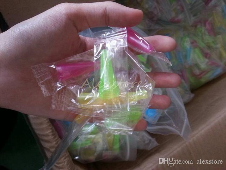 Narghilè Shisha Test Finger Coperchio tappo a goccia 510 Boccaglio monouso in plastica Suggerimenti boccaglio Sano e-narghilè Tubo singolo