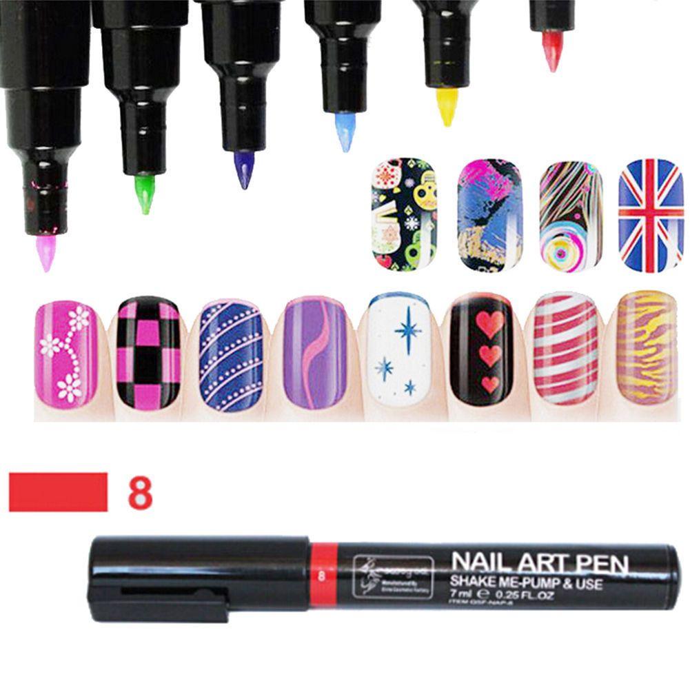 i Nail Art Pen Painting Design Tool disegno gel UV polacco Manicure