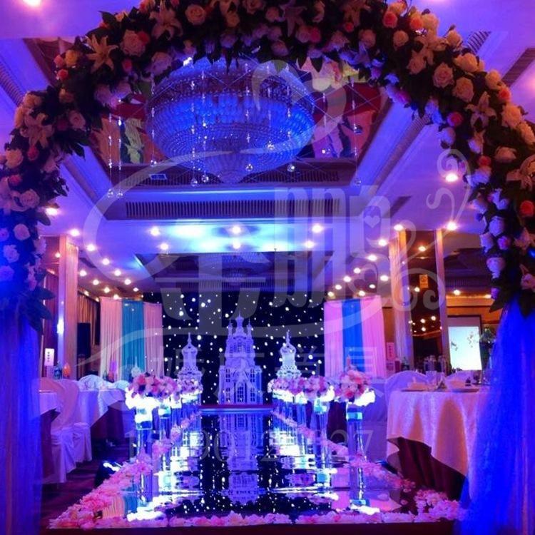 10m 1m Wide Shine Silver Mirror Carpet Aisle Runner For Romantic Wedding Favors Party Decoration