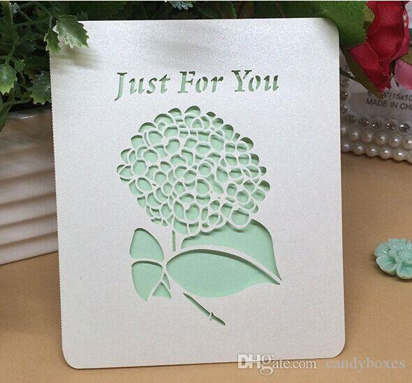 Rustic Happy Birthday Greetings Card Natural Festival Celebration Paper Cards With Inner Sheet Hollow Cutting Romantic From