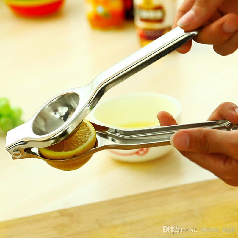 Spremiagrumi in acciaio inox Spremiagrumi con alesatori Spremiagrumi Manuale manuale Arancia agrumata Limone Spremiagrumi Utensili da cucina