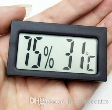 عالية الجودة البسيطة الرقمية lcd عرض داخلي ميزان الحرارة الرطوبة أداة استشعار متر temp تستر