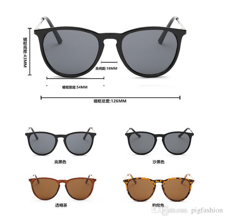 781f20b7702 Wholesale-Hot HD Polarized Men Round Rayed Vintage Sun Glasses Women ...