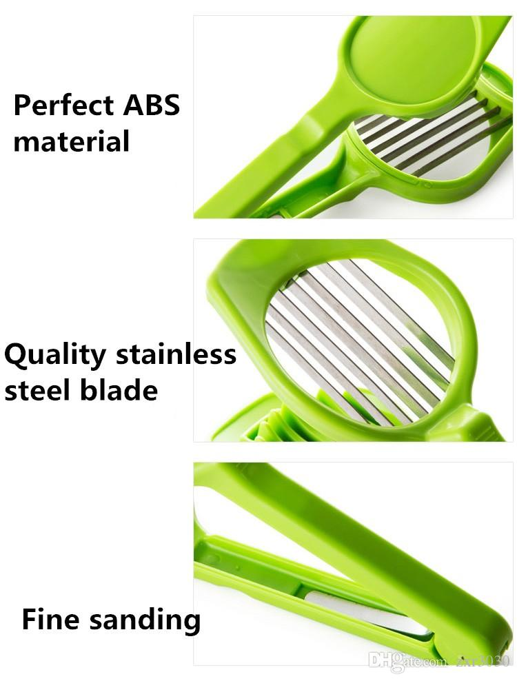 Kiwi fruit Egg Slicer Cutter Mushroom Tomato Cutter Multifunction Kitchen Accessories Cutter Mold Cooking Tool Gadgets Salad tool