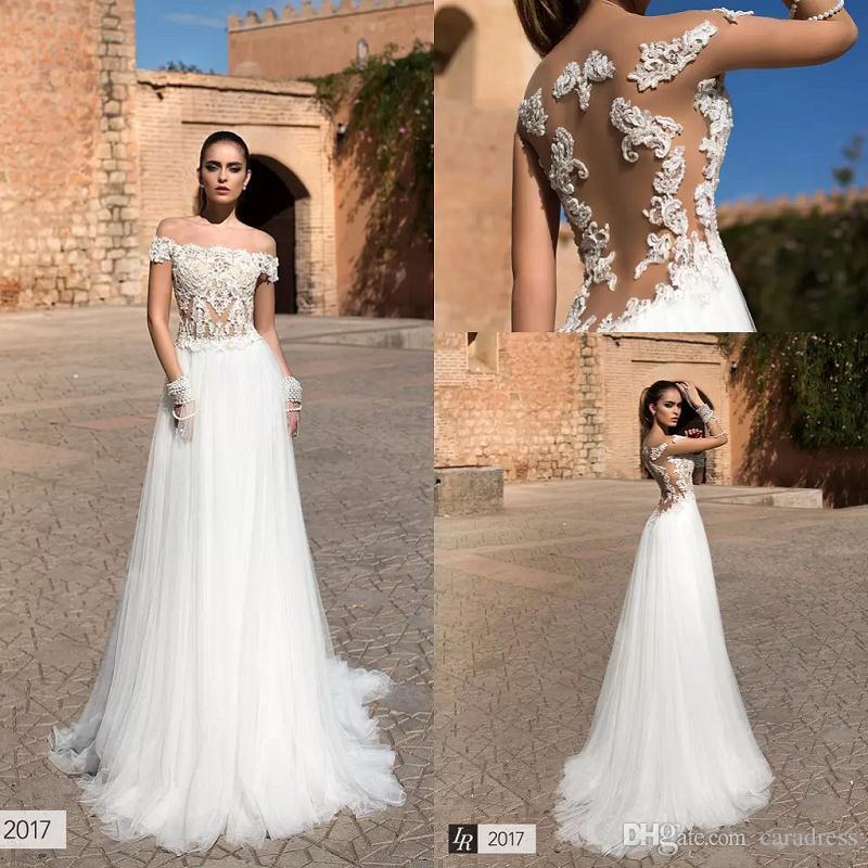 Discount 2017 IR Summer Boho Beach Wedding Dresses Off The