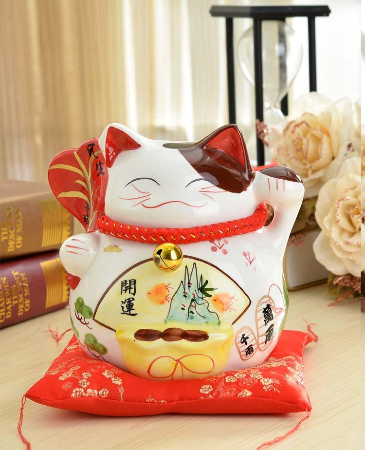 Lucky Cat piggy piggy large ceramic ornaments shops opened a Home Furnishing birthday gift ideas