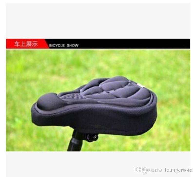 Mountain Bicycle Saddle Espessante Sílica Gel Coxim Capa Assento Mat Silicone Painel Equipamento Acessórios Confortável Pad Soft 3 5SC H1