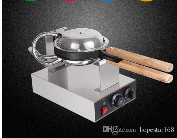 Máquina de fabricantes de gofres de huevo de Hong Kong con certificación CE 220V 110V Huevo Fabricante de huevos Bubble Waffle Comprar Máquina de alta calidad
