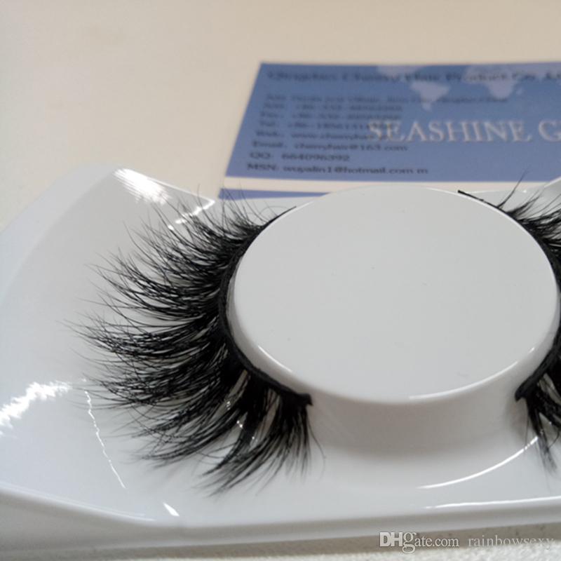 Cheap False Eyelashes 3d Mink Individual Full Strip Long False Thick