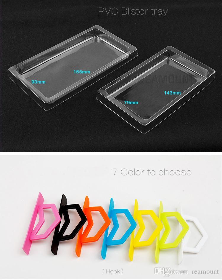 New Coming Retail pvc Packaging Package Crystal Packing Box For Cell phone Case for Samsung s8 s8 edge