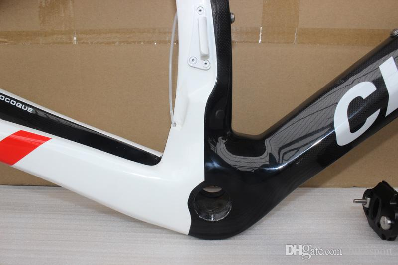 Chinese Carbon Road Frame 2017 newest Cipollini NK1K Carbon Bike Frame T1000 Carbon Frame BB68/BB30 bici da corsa