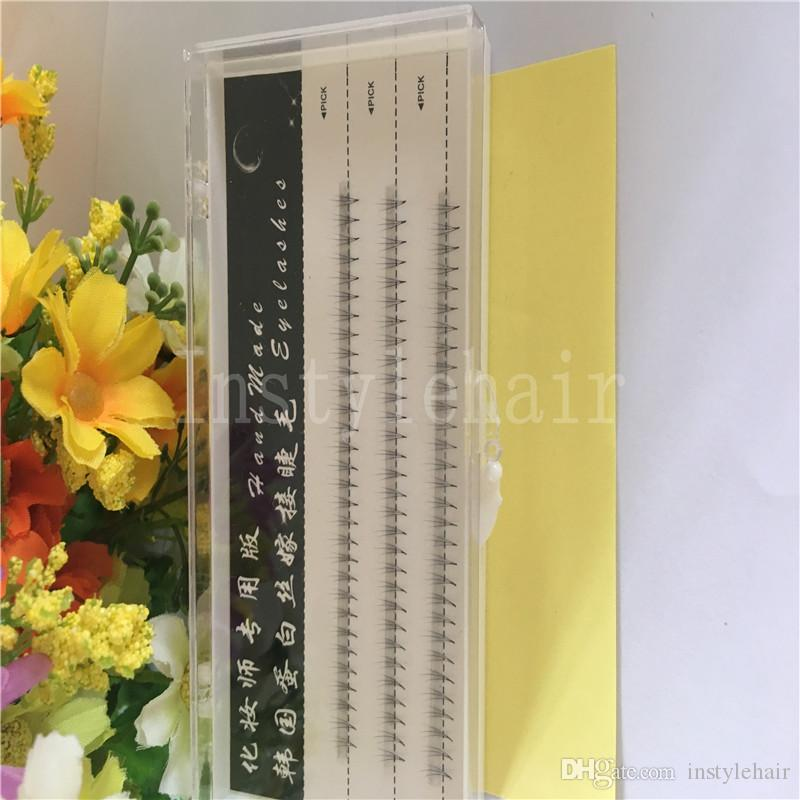 8mm 3 hairs /Cluster Fashion Professional Makeup Individual Cluster Eye Lashes Grafting Fake False Eyelashes Extensions