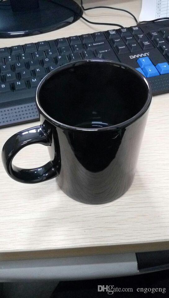 mit klassischem Markenlogo 2C schwarz Mode Muster Marke Logo Becher mit Handgriff Becher Tasse 10x7.5cm