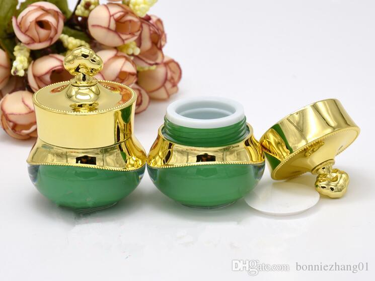 5g Crown Plastic Refillable Bottles Empty Pot Aroma Bottles Makeup Jar Travel Face Cream Lotion Cosmetic Container