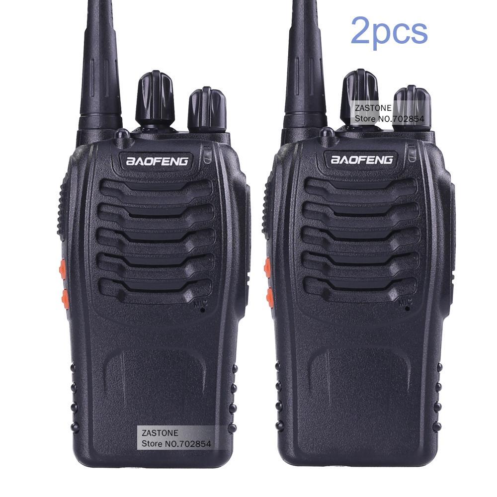 Audio Intercom Türsprechstelle Uhf 400-470 Mhz Frequenz Tragbare Handheld Radio Comunicador Zwei-weg Ham Radio