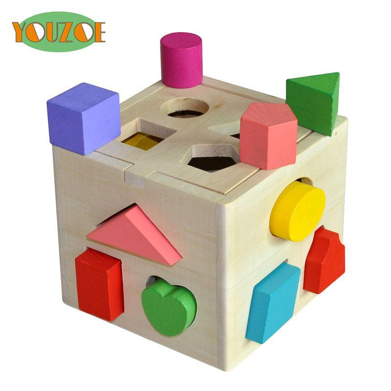 2018 Youzoe Eco Friendly Educational Wood Baby Toy Children Multifunction  Early Learning Wooden Toys Cube Color Learn From Huangtaostore, $23.9 |  Dhgate.Com