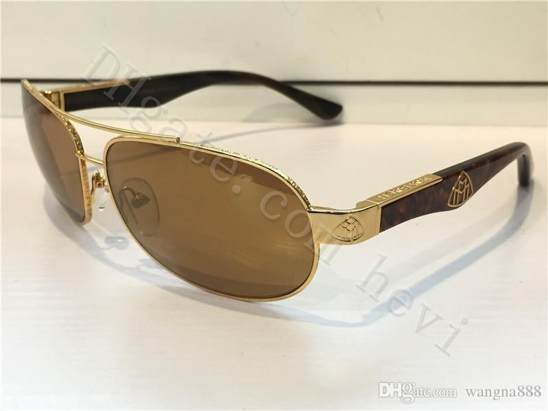 New Luxury Car Brand Maybach Sunglasses 18K Gold Sunglasses Pilot ...