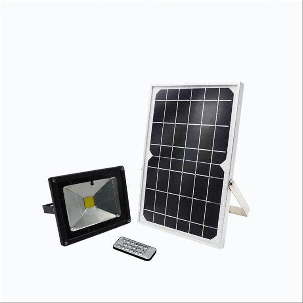 Remote Control 10w 20w Solar Led Floodlight 6v 10w Solar