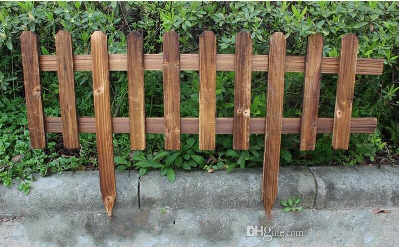2020 Garden Wood Fence Trellis Antiseptic Wooden Fencing Guardrail