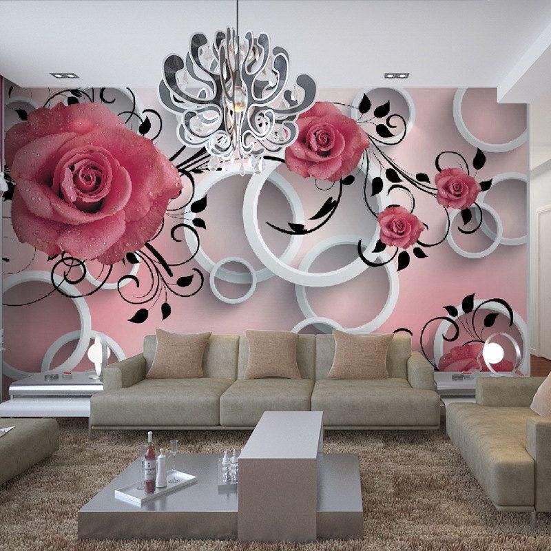 Chambre romantique rouge stunning peinture au numro rose rouge parapluie romantique bricolage - Chambre romantique rouge ...