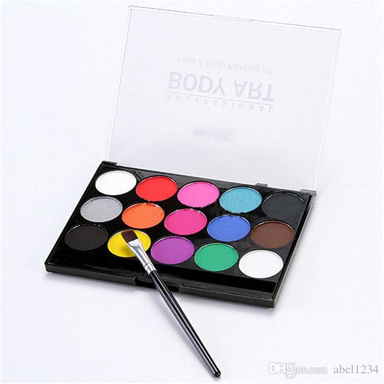 Body Paint Oil Painting Profession Boday Art Make Up Set Kit Halloween Paint DHL