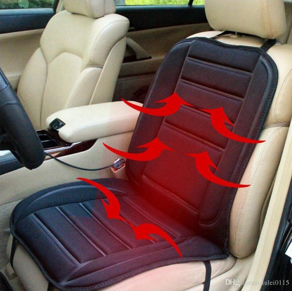 Winter car seat cushion cover dc 12v heating vitara toyota corolla camry rv4 highlander ch r reiz fj cruiser landcruiser truck seat covers truck seats