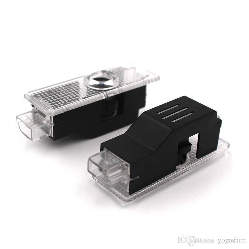 LED-Türwarnleuchte mit für RS-Logo-Projektor für Audi A6 C5 A4 B6 B8 80 A1 A8 Q7 Q5 Q3 A3 A5 A7 R8 RS Linie S3 S4 S5