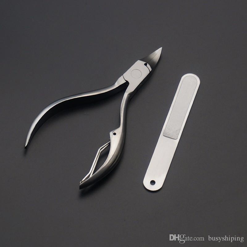 Paslanmaz Çelik Ayak Tırnak Kesici Makası Clipper Büzülme Pedikür Bakımı Tırnak Makası Batık Ayak Tırnaklarını Tırnak Eti Çıkarıcı Tırnak Araçları