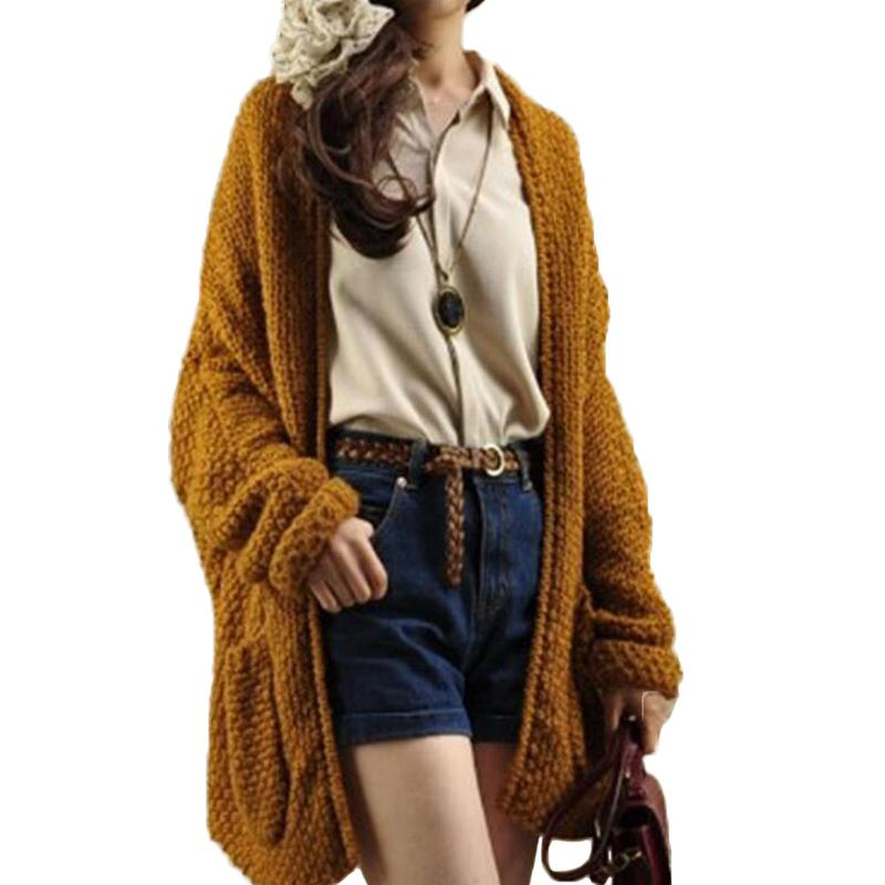 67f9edaff3 Wholesale-Buenos Ninos 2016 Solid Camel Batwing Sleeve Knitted ...